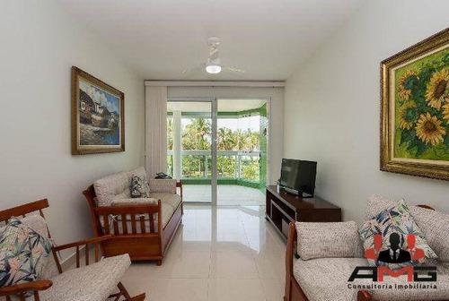 Apartamento Com 3 Dormitórios À Venda, 170 M² Por R$ 2.800.000,00 - Riviera - Módulo 3 - Bertioga/sp - Ap2868