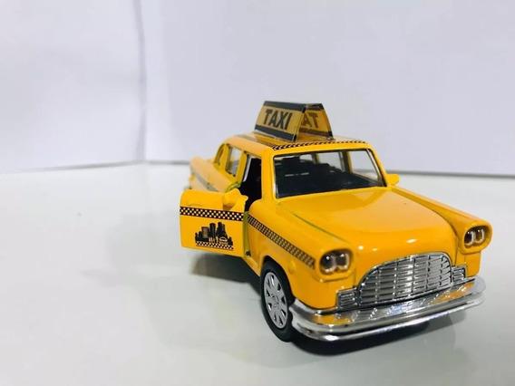 Miniatura Taxi New York Escala 1/32