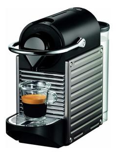Cafeteira Nespresso Pixie Steel C60 220v