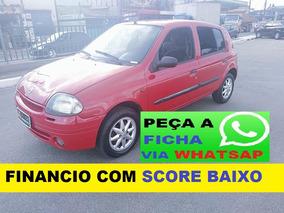 Renault Clio Entrada 3000 E 48 De 440 Ficha Pelo Whatsap