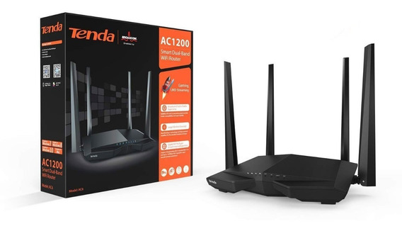 Tenda Ac1200 Dual Band Wi-fi Router Wireless 867mbps 2.4/5gh