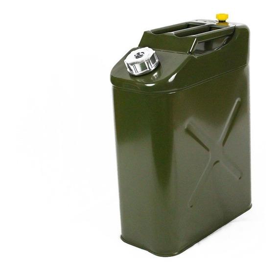 Galão Combustivel 20 Litros Verde Chapa 9mm