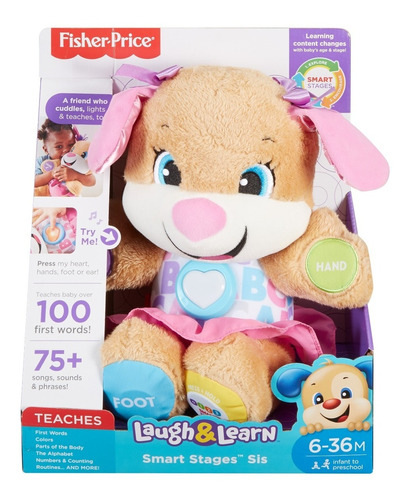 Fisher-price Laugh & Learn Smart Stages Peluche Educativo, S