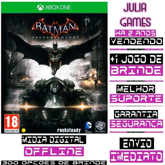 Batman Arkham Knight Xbox One Digital Offline + Brinde