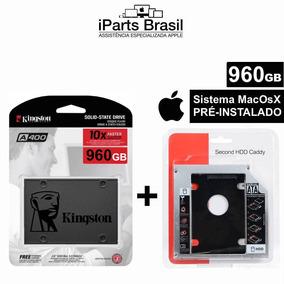 Hd Ssd Macbook Kingston 960 Gb Adaptador Caddy Sistema Apple