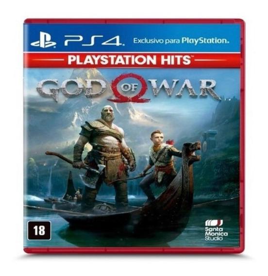 God Of War Ps4 Mídia Física Novo Lacrado
