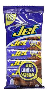 Chocolatina Jet Leche X 12 Unidades