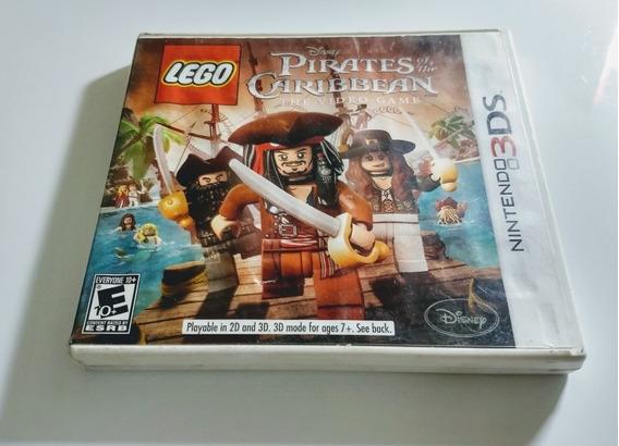 Lego Pirates Of The Caribbean Nintendo 3ds - Americana !!12 X Sem Juros !!!