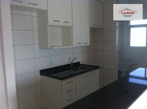 Apartamento Com 2 Dormitórios Para Alugar, 50 M² Por R$ 1.250,00/mês - Umuarama - Osasco/sp - Ap1741