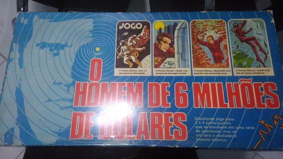 Jogo De Tabuleiro - O Homem De Seis Milhoes De Dolares