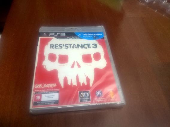 Resistance 3 Original Ps3 Novo Lacrado Mídia Física
