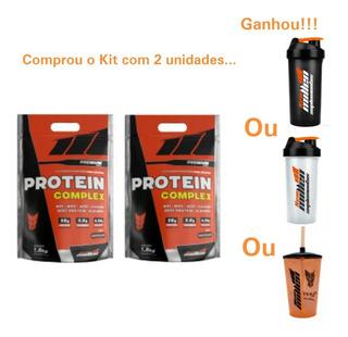 Protein Complex 1800g Kit 2 Unidades Sabores New Millen +coq