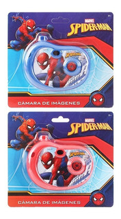 1 Camara De Imagenes Spiderman Mayoreo Bolo Fiesta Full