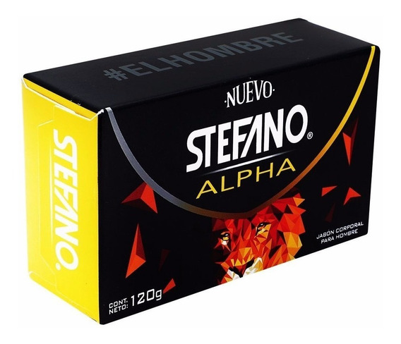 Stefano Alpha Bar Soap 120 Gr
