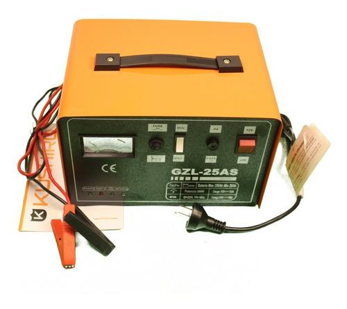 Cargador Bateria 12/24v Kushiro Automatico 25a Auto Moto