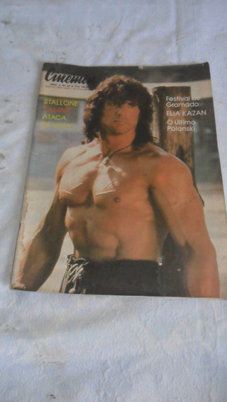 Revista Cinemin Stallone Rambo Como Esta Nas Fotos