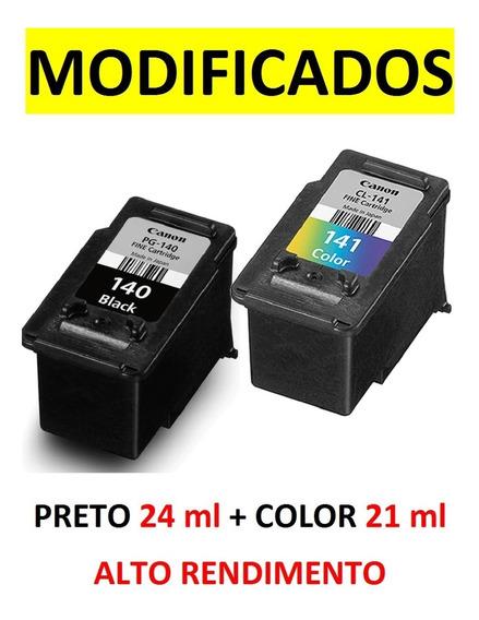 4 Cartuchos (140xl 24ml + 141xl 18ml) Cheios Envio Urgente!