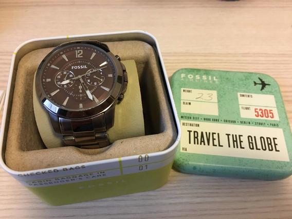 Fossil Com Garantia E Caixa Fs 4608 Original Relógio