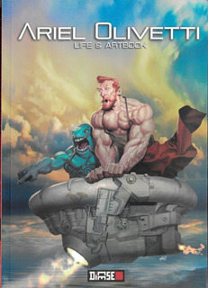 Ariel Olivetti Life & Artbook - Ed. Dicese - Sketchbook