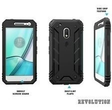 Capa Poetic Revoluton Heavy Duty Moto G4 Play Black Original