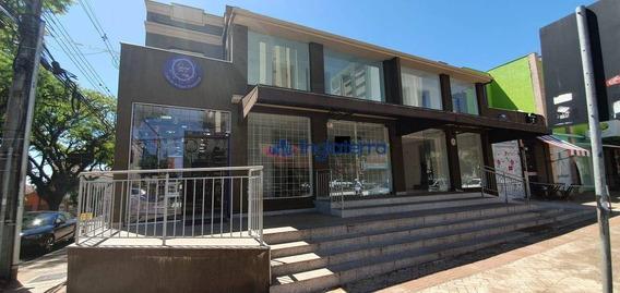 Sala Para Alugar, 120 M² Por R$ 3.500/mês - Centro - Londrina/pr - Sa0105