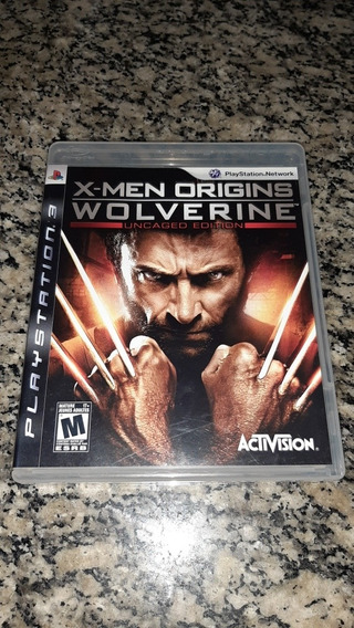 X-men Origins Wolverine Ps3 Fisica