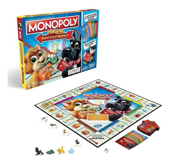 Juego Monopoly Junior Banco Electrónico Hasbro