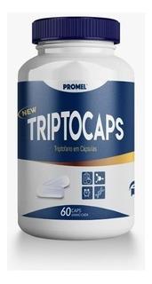 Triptocaps Triptofano 60 Cap 500 Mg Precurssor Da Serotonina