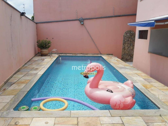 Sobrado Com 4 Dormitórios À Venda, 426 M² Por R$ 3.450.000 - Jardim São Caetano - São Caetano Do Sul/sp - So0781