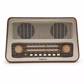 Radio Amplificador Retro Imaginarium 220v Am/fm Entrada Usb