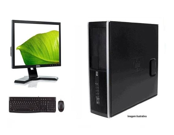 Computador Hp Elite 8300 I7 8gb 120ssd Monitor 17 Polegadas