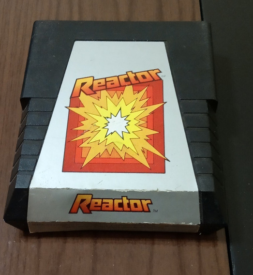 Cartucho Para Atari 2600 Reactor Original Parker Brothers