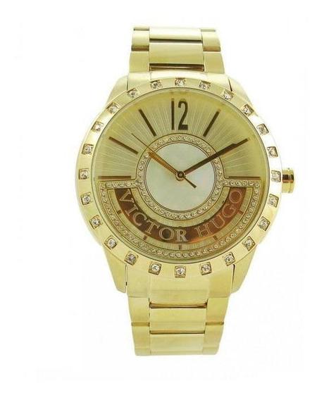 Relógio Victor Hugo Quartz Vh10124lsg