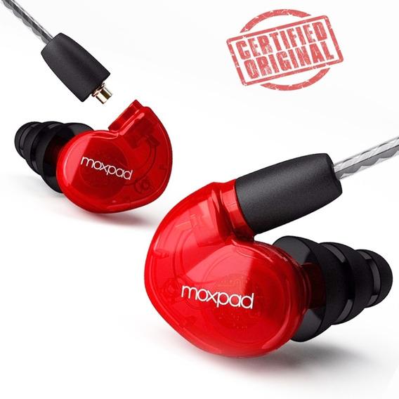 Fone In Ear Moxpad X6 - Monitor De Palco Profissional