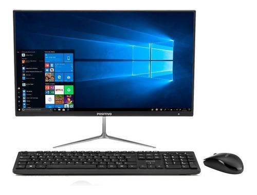 Imagem 1 de 5 de Desktop All In One Positivo 215 Intel Celeron Full Hd Ips