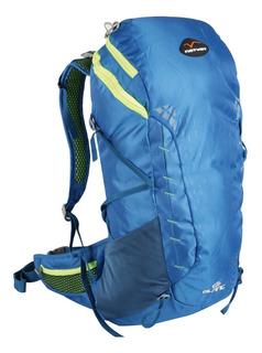 Mochila Waterdog Natway Blanc 30 Litros Con Cubremochila Impermeable Viajes Camping Trekking