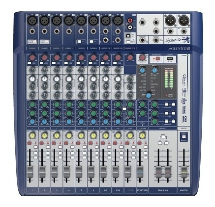 Consola Soundcraft Signature 12