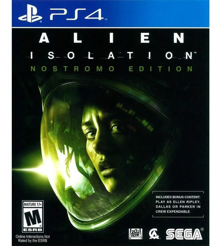 Alien Isolation Nuevo Fisico Ps4