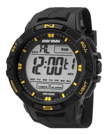 Relógio Mormaii Masculino Digital Preto Grande
