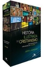 Livro Justo Gonzales - Box História Ilustrada Cristianismo
