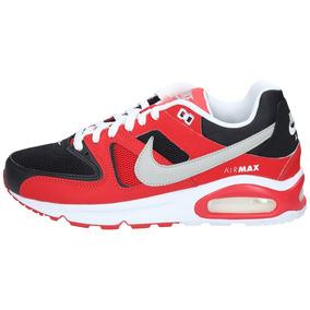dc2e4ce5 Zapatillas Nike Hombre Urbana Air Max Command Rojo Negro
