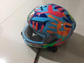 Cascos Agv K3-sv Con Intercomunicador Senna