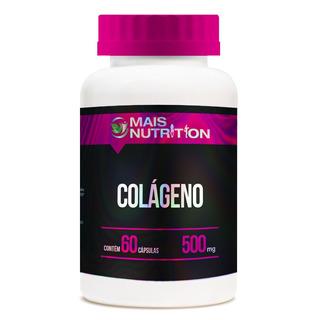 Colageno 500 Mg 60 Cápsulas Mais Nutrition Frete Gratis