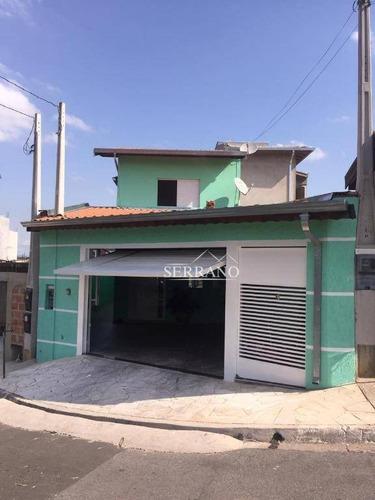 Casa À Venda, 142 M² Por R$ 480.000,00 - Parque São José - Vinhedo/sp - Ca0352