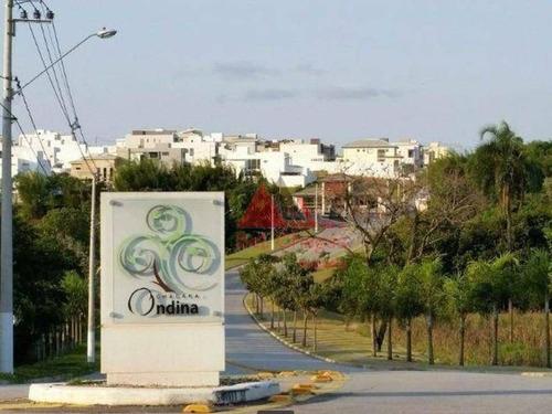 Terreno À Venda, 300 M² Por R$ 245.000,00 - Condomínio Chácara Ondina - Sorocaba/sp - Te0221