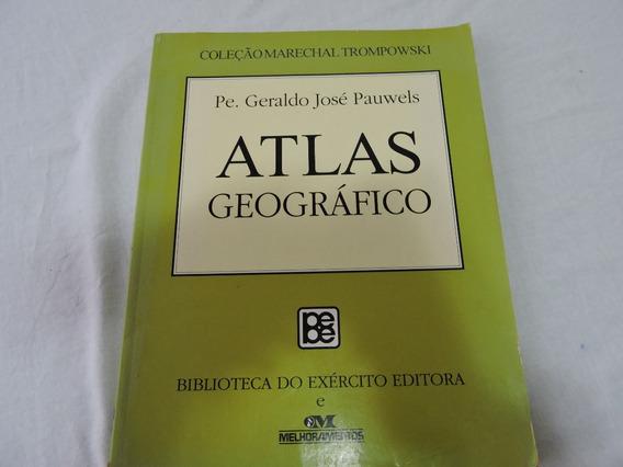 Atlas Geográfico Marechal Trompowski Biblioteca Exército