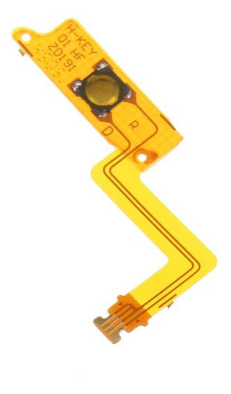 Para Nintendo Novo 3ds Xl/ll Substituição Home Key Flex Cabo
