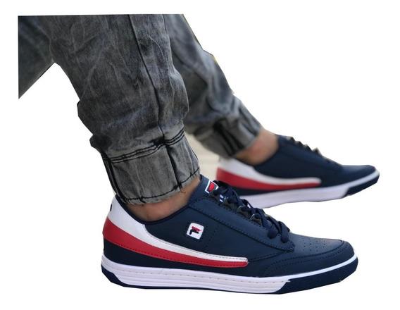 Zapatos Hombre, Tipo Fila, Tenis Hombre,deportivos, Oferta