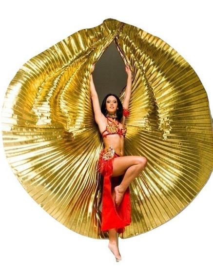 * Alas De Isis Danza Árabe Bellydance Oro
