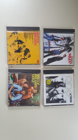 Bee Gees. Lote 4 Cds. Greatest Hits I Y Ii. Muy Buen Estado.